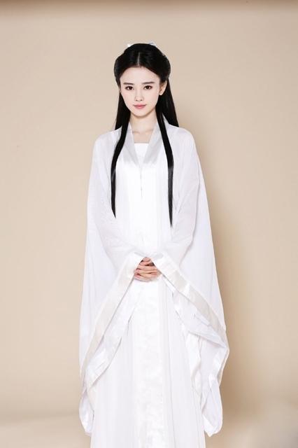 四千年第一美女扮小龙女叫板陈妍希(组图)(1