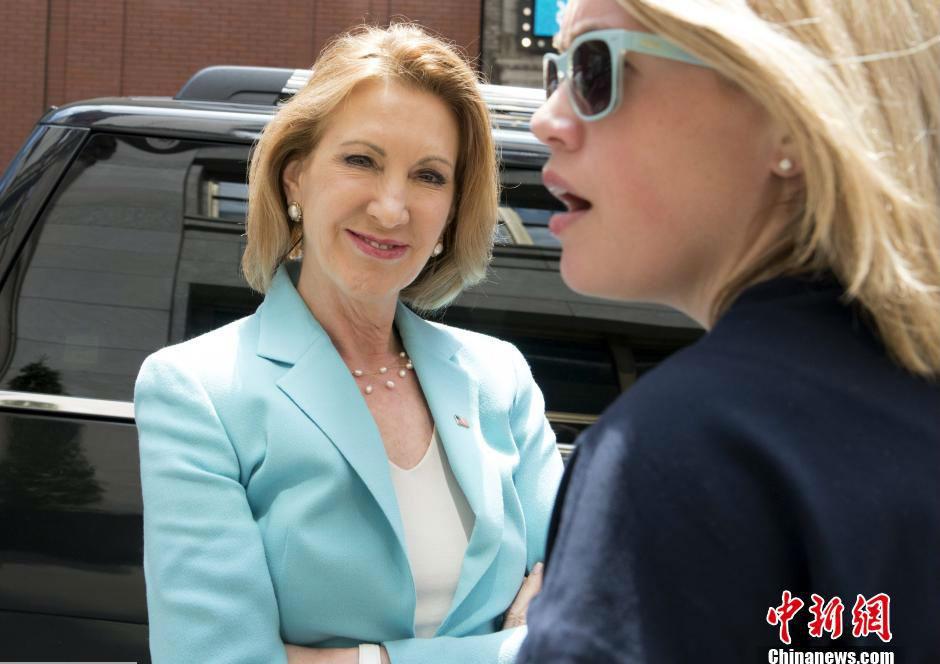 惠普前CEO宣布竞选美国总统 为女性候选人1