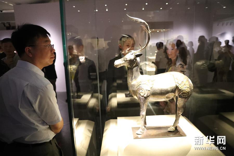 #(文化)(5)吐蕃艺术珍品大展在敦煌举办