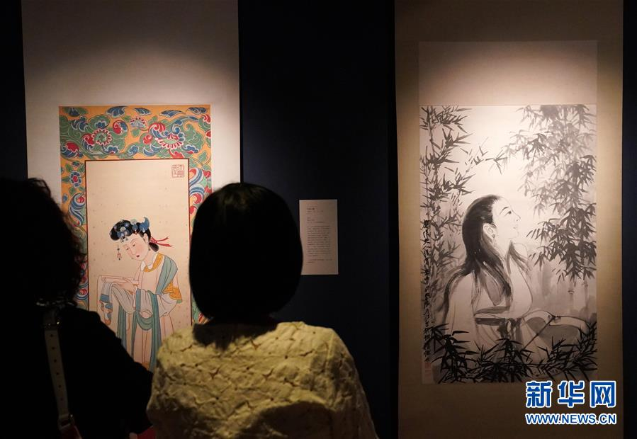 """(文化)(5)""""无象之象:张大千精品展""""将在香港举行"""