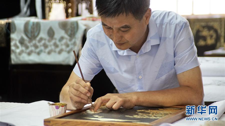 (文化)(7)金漆镶嵌—古老的手工艺重现生机