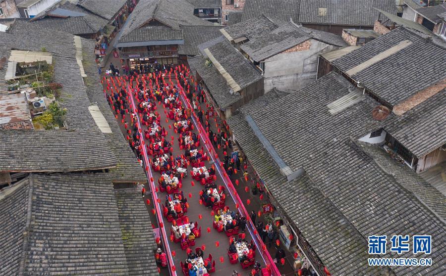 """(社会)(4)四川上里古镇:喜庆""""年猪节"""""""