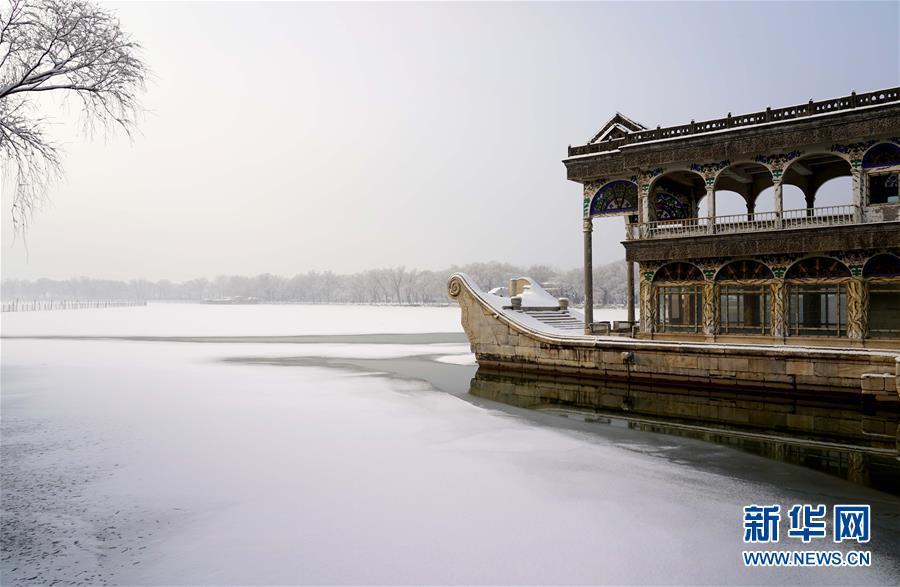 (环境)(6)雪后颐和园美如画
