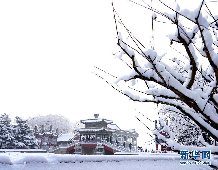 (环境)(7)雪后颐和园美如画
