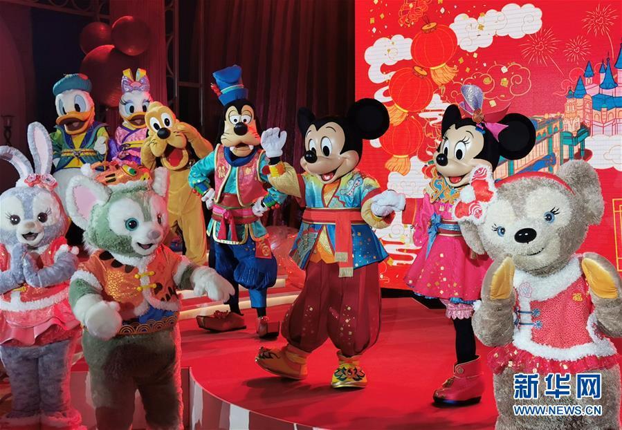 """(社会)(2)上海迪士尼发布中西合璧春节""""菜单"""""""
