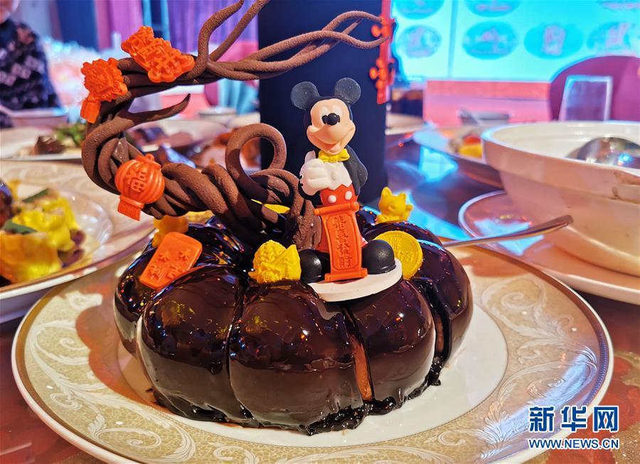 """(社会)(3)上海迪士尼发布中西合璧春节""""菜单"""""""