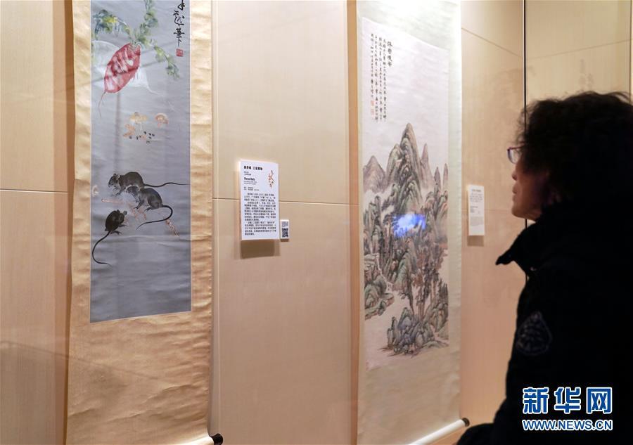 (文化)(2)鼠年迎春特展亮相上海博物馆
