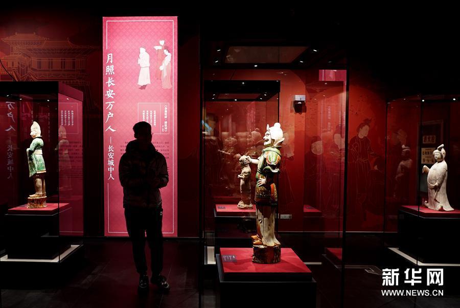 (文化)(3)文物里的唐都长安人生活
