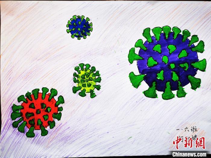 特殊的寒假作业重庆小学生绘画记录抗疫百态