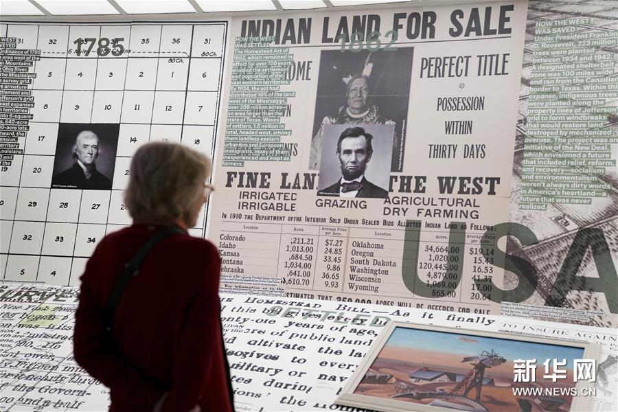 """(国际)(3)纽约古根海姆博物馆举行""""乡村,未来""""展览"""