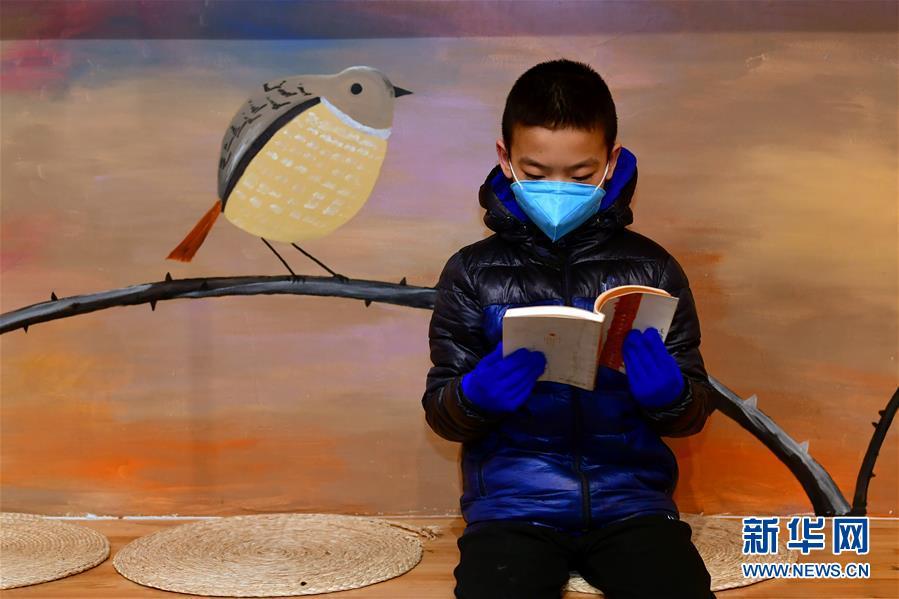 (聚焦疫情防控)(3)山西太原:实体书店逐渐恢复营业