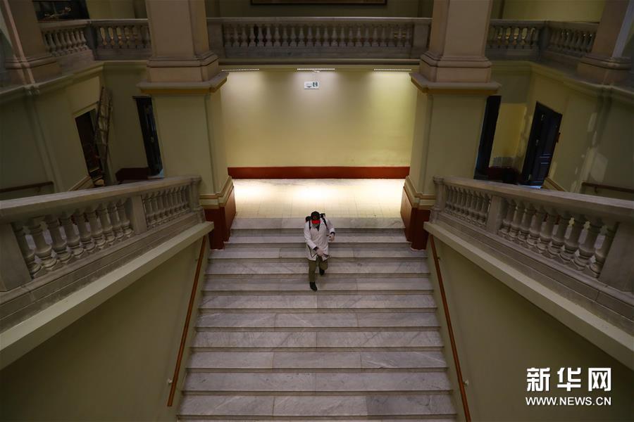 (国际疫情)(6)埃及博物馆闭馆消毒