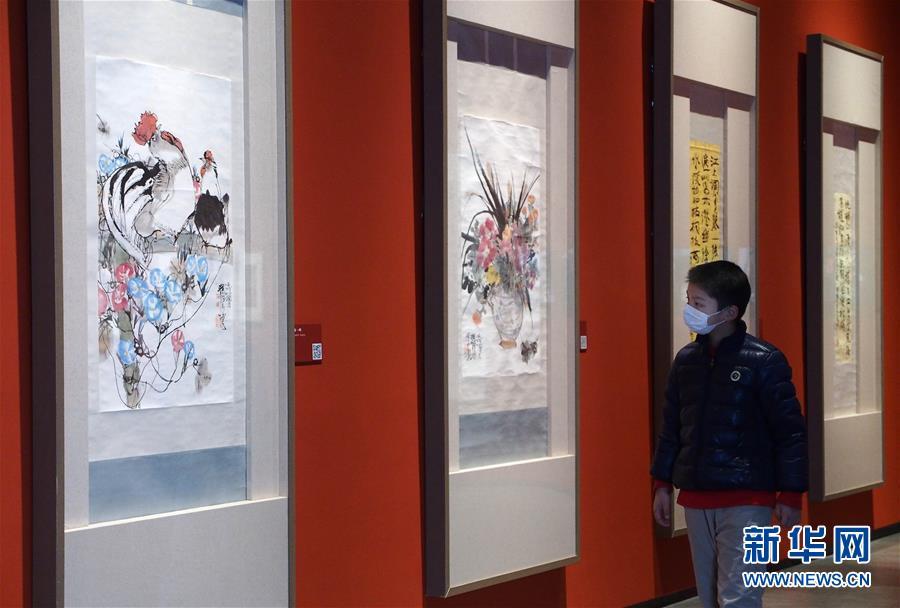 (新华网)上海程十发美术馆全部展厅正式恢复对外开放