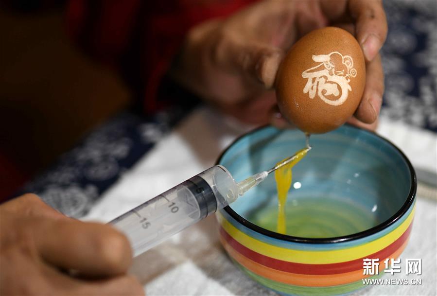 #(社会)(4)精美的蛋雕艺术