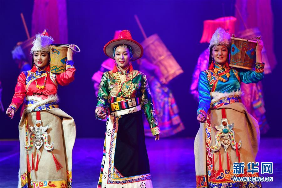 (文化)(2)藏族传统歌舞乐《金顶梵音-拉卜楞》恢复公演