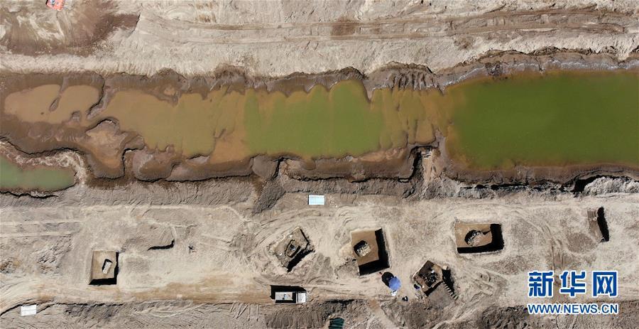 (文化)(2)山东小清河沿线发现北朝至唐朝时期家族墓葬群