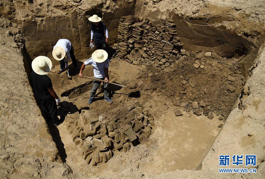 (文化)(3)山东小清河沿线发现北朝至唐朝时期家族墓葬群
