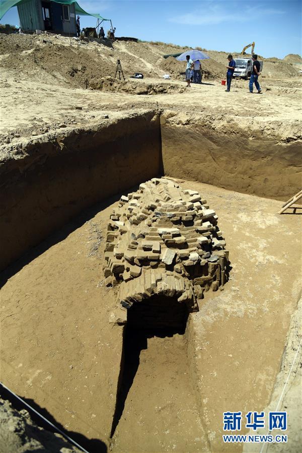 (文化)(6)山东小清河沿线发现北朝至唐朝时期家族墓葬群