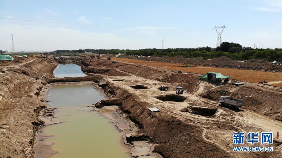 (文化)(7)山东小清河沿线发现北朝至唐朝时期家族墓葬群