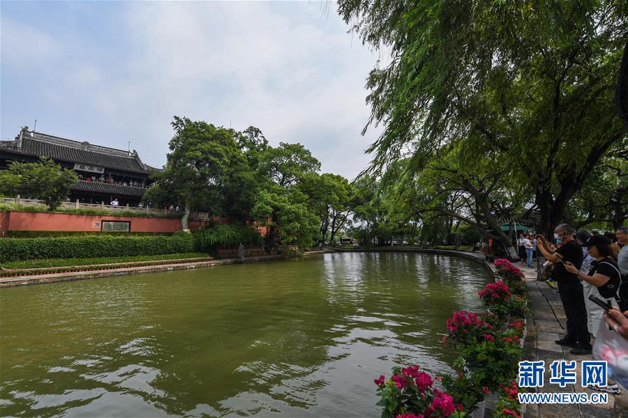(社会)(6)嘉兴南湖景区免费开放