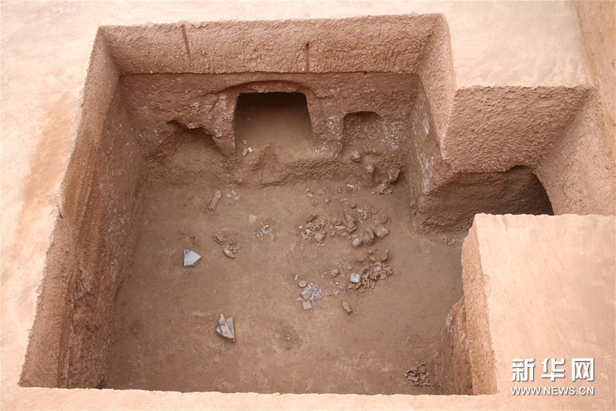 (图文互动)(1)陕西西咸新区发现隋代王韶家族墓园