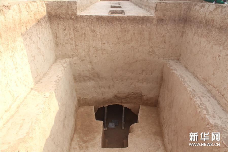 (图文互动)(3)陕西西咸新区发现隋代王韶家族墓园
