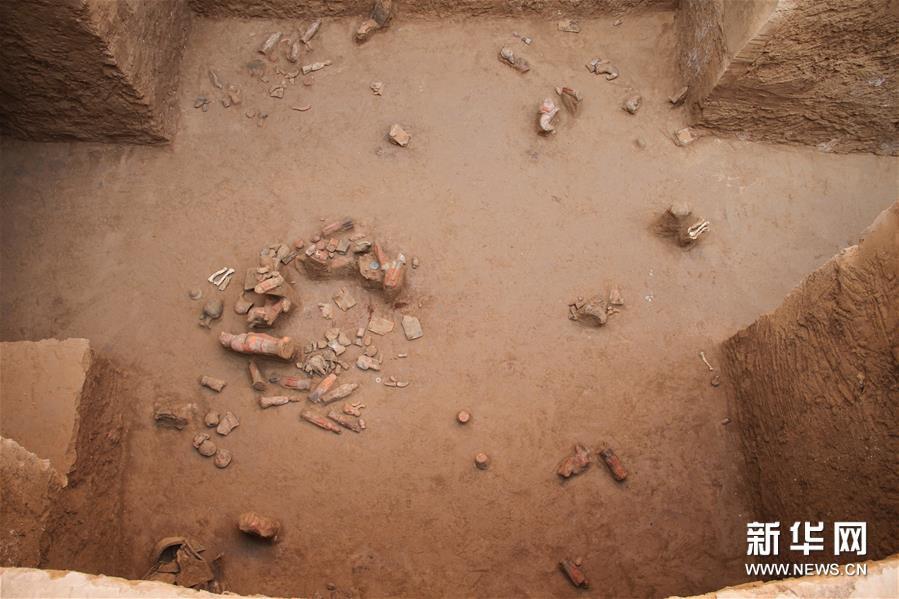 (图文互动)(6)陕西西咸新区发现隋代王韶家族墓园