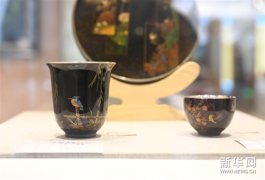 (文化)(2)福州举办大漆茶器展