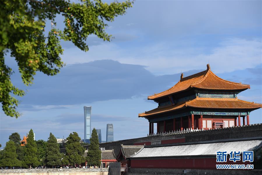 (环境)(11)北京迎来晴好天气