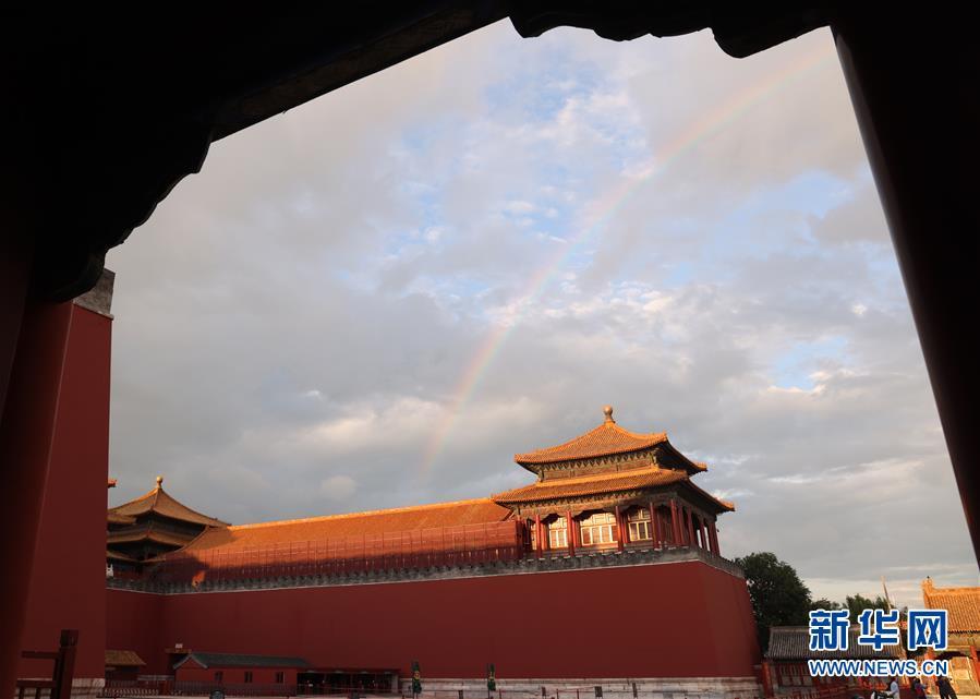 (新华网)(8)北京迎来晴好天气