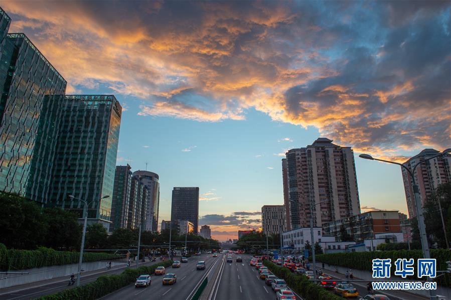 (新华网)(13)北京迎来晴好天气