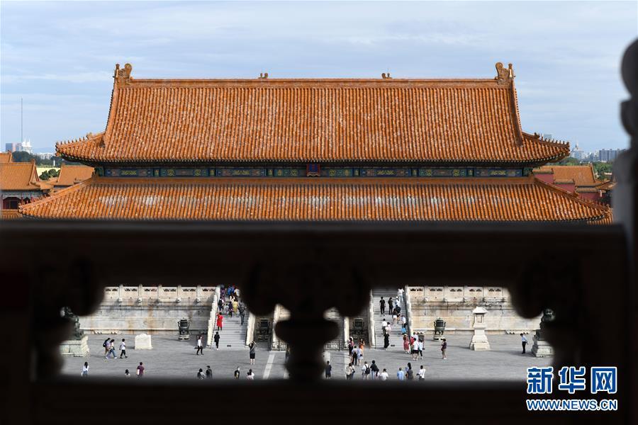 (文化)(3)故宫举办紫禁城建成六百年展览