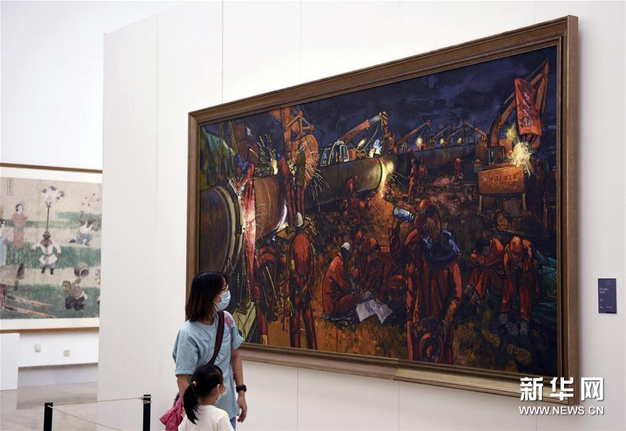 """#(文化)(3)""""一带一路""""国际美术工程作品展在杭州开展"""