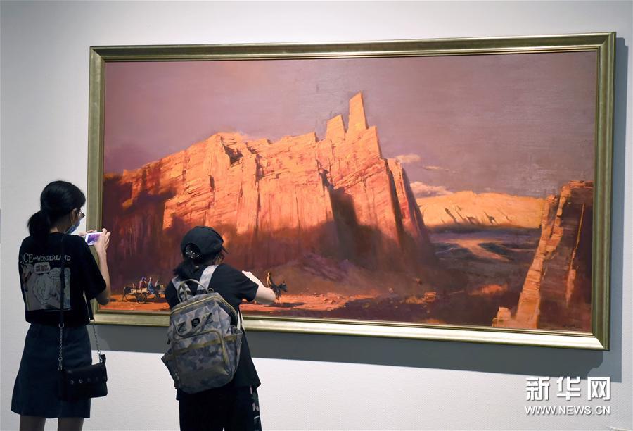"""#(文化)(2)""""一带一路""""国际美术工程作品展在杭州开展"""