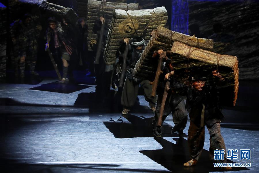 """(文化)(2)第十二届中国舞蹈""""荷花奖""""舞剧评奖演出在沪揭幕"""