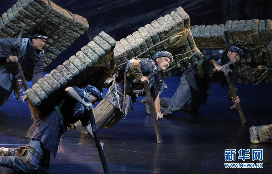 """(文化)(3)第十二届中国舞蹈""""荷花奖""""舞剧评奖演出在沪揭幕"""