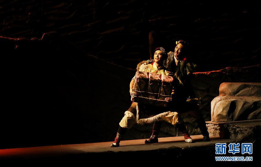 """(文化)(4)第十二届中国舞蹈""""荷花奖""""舞剧评奖演出在沪揭幕"""