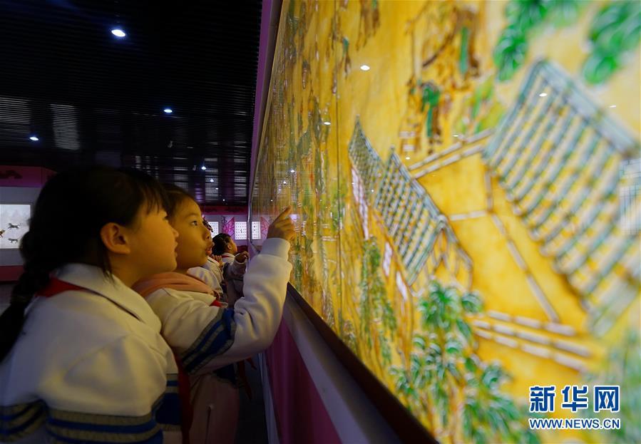 (教育)(1)河北滦州:校外课堂传承传统文化