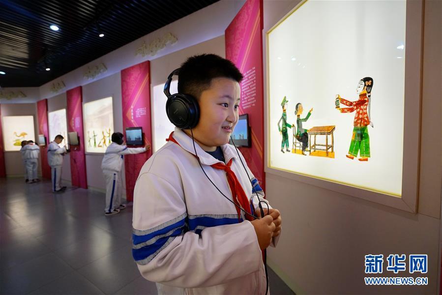 (教育)(2)河北滦州:校外课堂传承传统文化