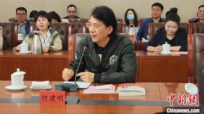 中国作协副主席何建明:中国有写不完的好故事