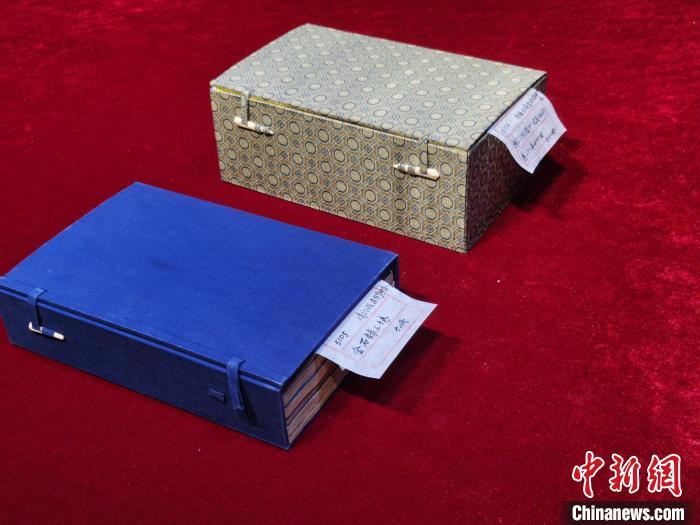 浙江天一阁征得珍贵古籍两种再现活字泥版印刷技术