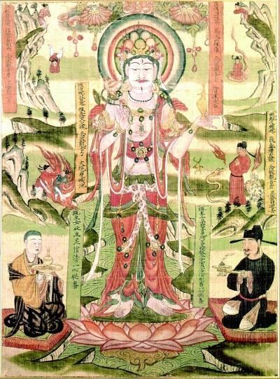 千年敦煌古绢画复制成功
