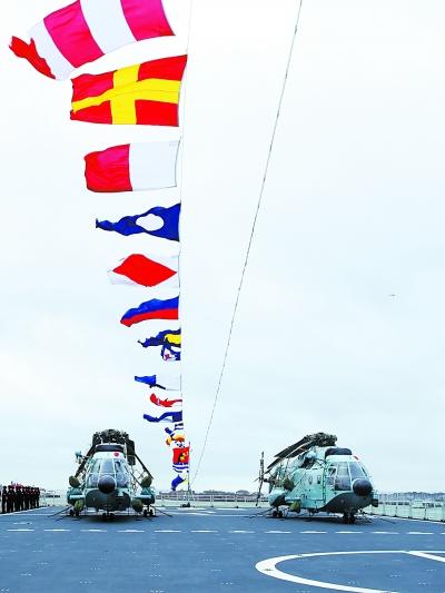 中国海军第十八批护航编队访问英国