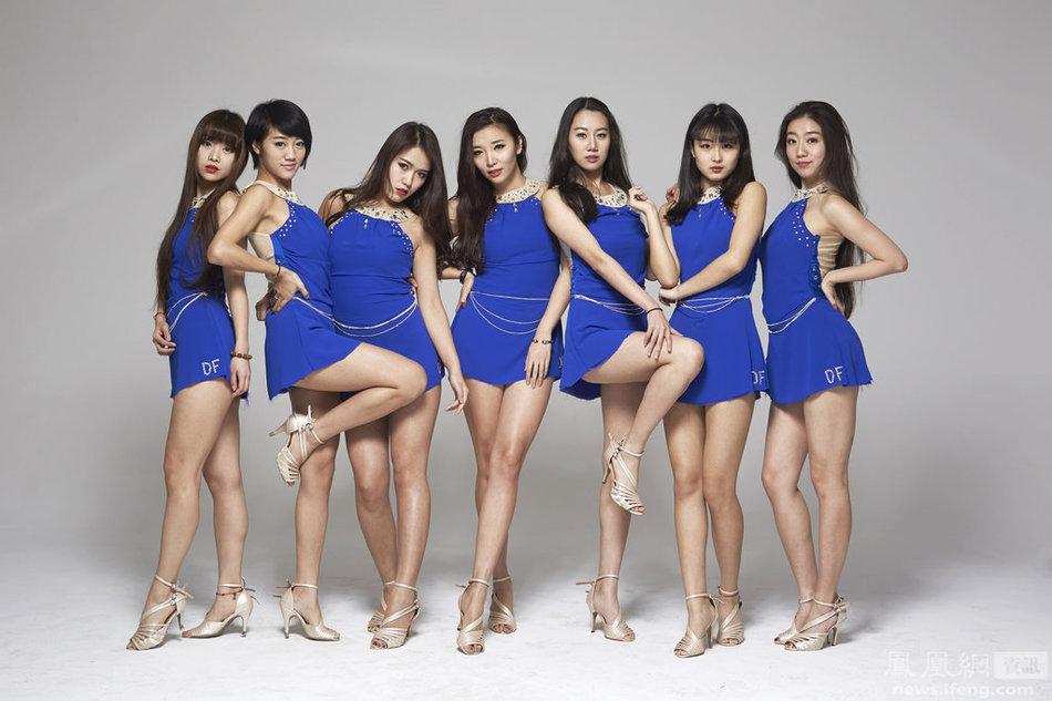 CBA总决赛 北京首钢长腿美女啦啦队热力助阵