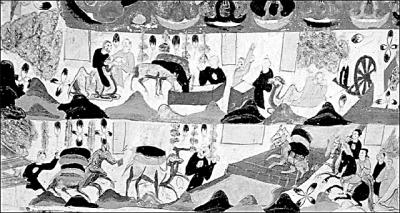 敦煌壁画中的丝绸之路商旅图(资料图片)-丝绸之路经济带视角下的