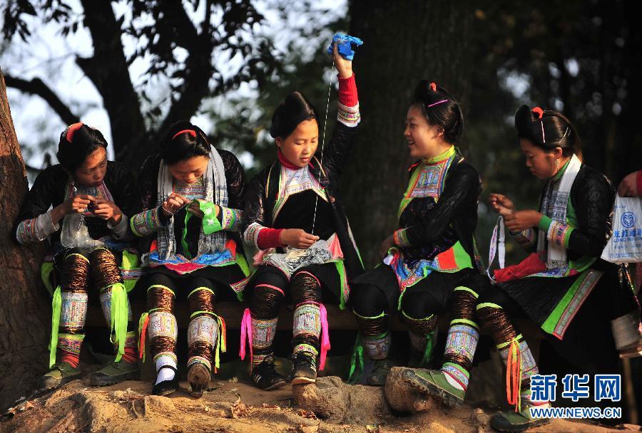 中国最后的枪手部落 岜沙苗寨