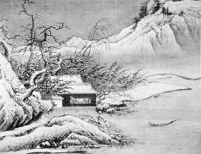 """老子""""自然无为""""的哲学思想博大精深,对中国山水画艺术风格的形成也产生了深远的影响。"""