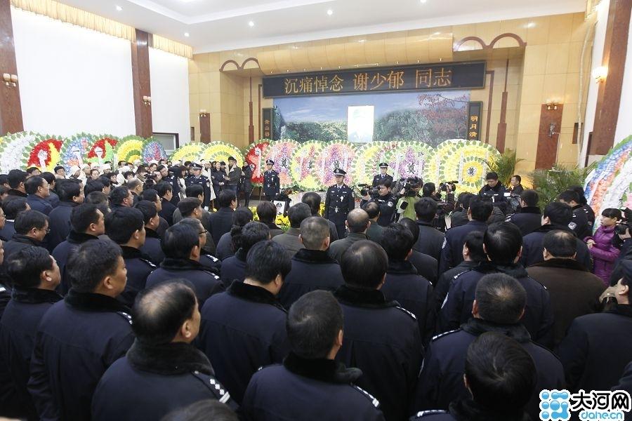 河南漯河公安局副局长谢少郁因公殉职 倒在案