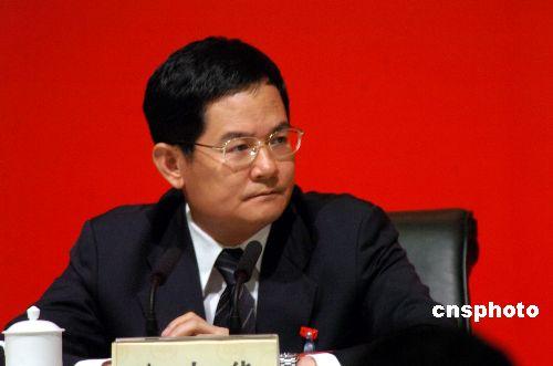 徐少华任广东副省长 林木声被免去副省长职务
