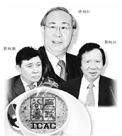 前高官巨富涉嫌贪腐二郭案拷问廉洁之都(1